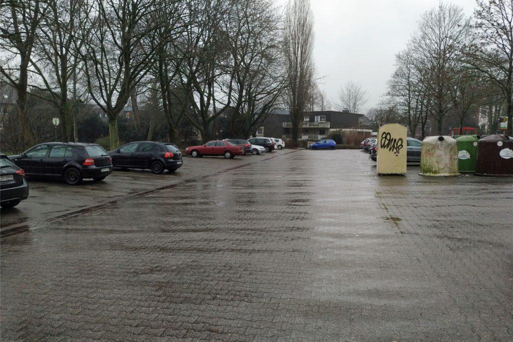 Parkplatz am St. Antonius-Krankenhaus in Kirchhellen