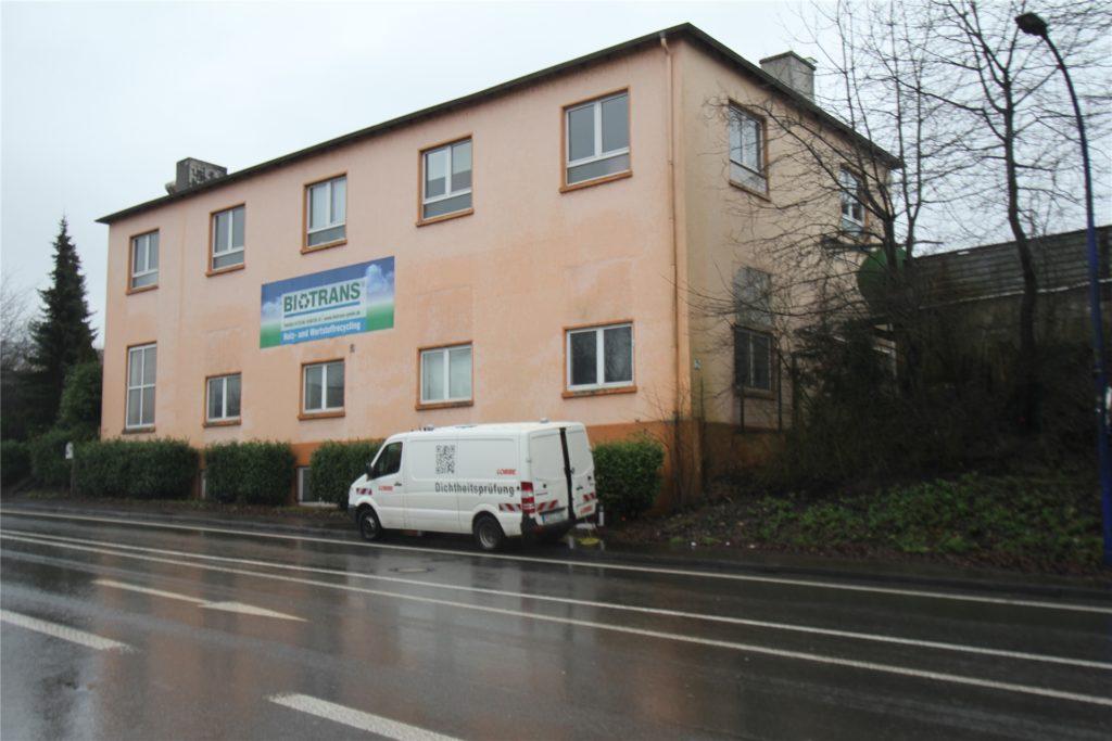 In diesem Haus an der Hagener Straße in Westhofen befanden sich bislang 25 Proberäume für Musiker.