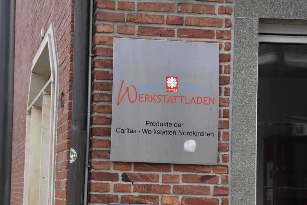Der Caritas-Werkstattladen in Werne am Moormannplatz ist seit dem ersten Corona-Lockdown geschlossen.