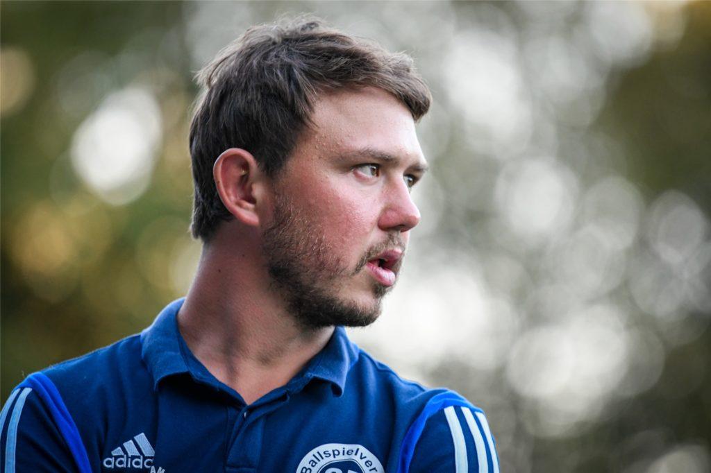BV-Trainer Marco Fischer hat vor Kurzem auch noch einmal den Trainingsplan angepasst.