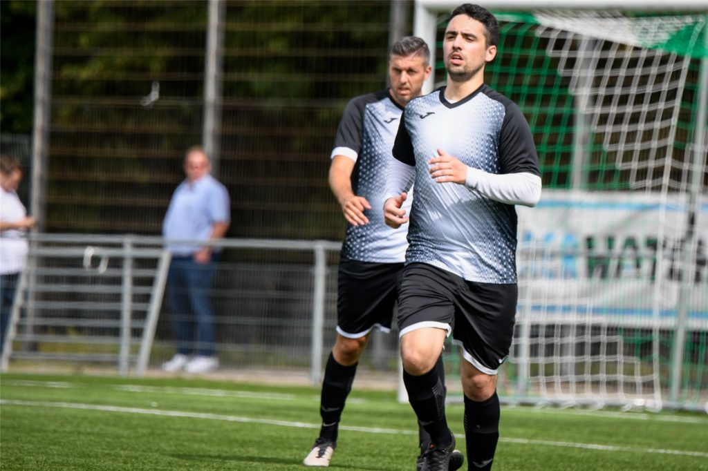 Simon Serges, hier im Trikot des VfB Lünen, wechselt im Sommer zum PSV Bork.