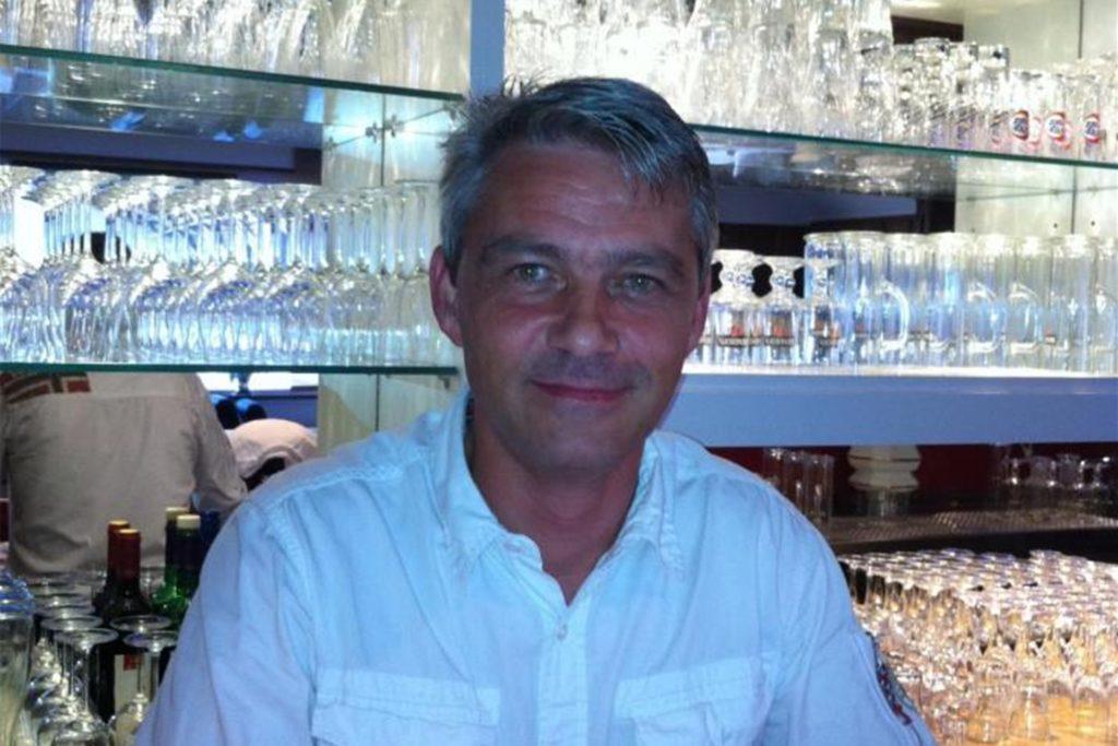 """Matthias Stracke ist der Inhaber des Restaurants """"Burg Heisterkamp""""."""
