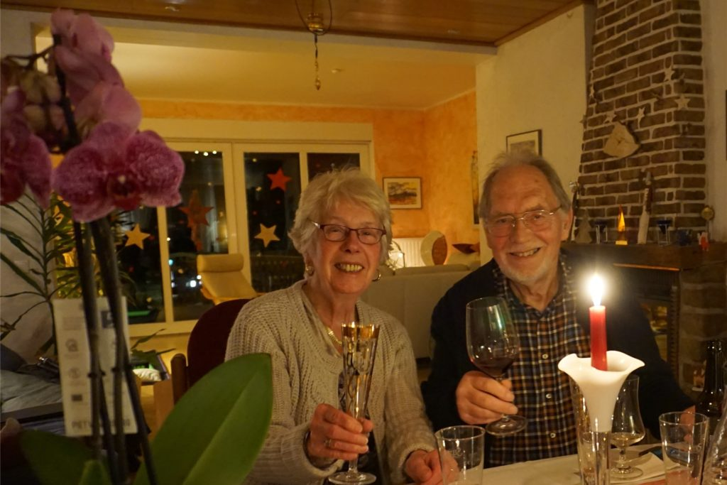 In ganz kleinem Familienkreis feierten Horst und Else Störmer ihre Diamantene Hochzeit.