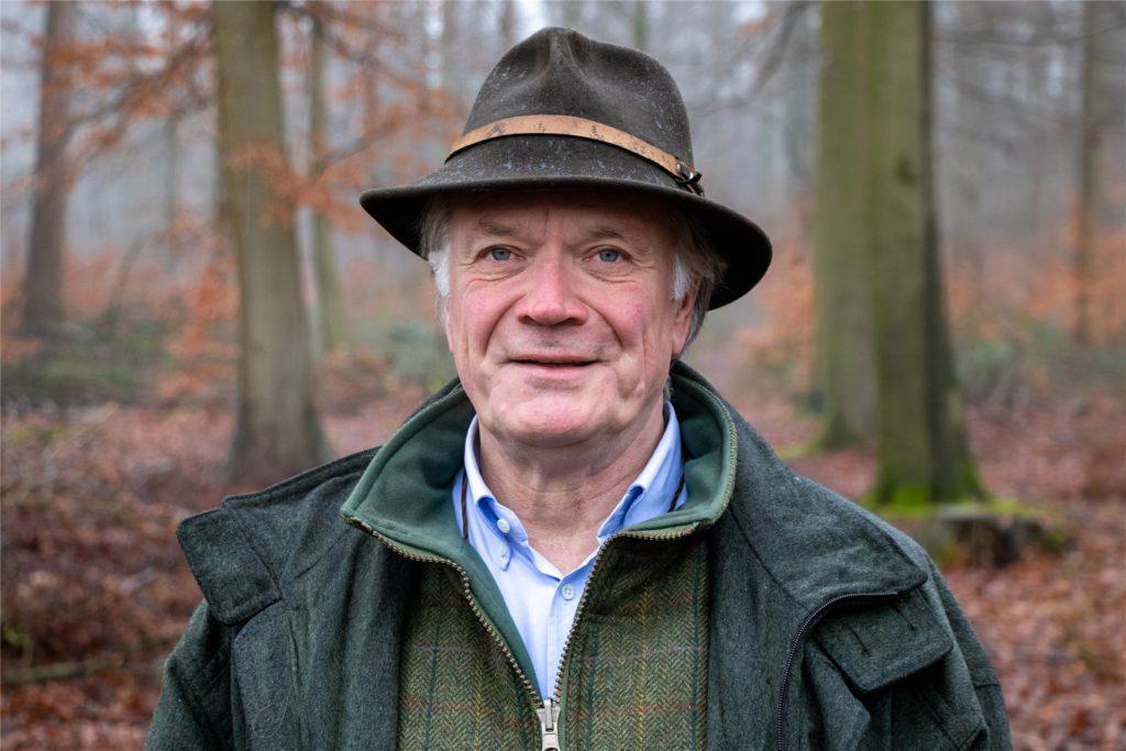 Freiherr Clemens von Oer ist Hegeringsleiter in Schöppingen-Legden und weiß um die Gefahr der Afrikanischen Schweinepest.