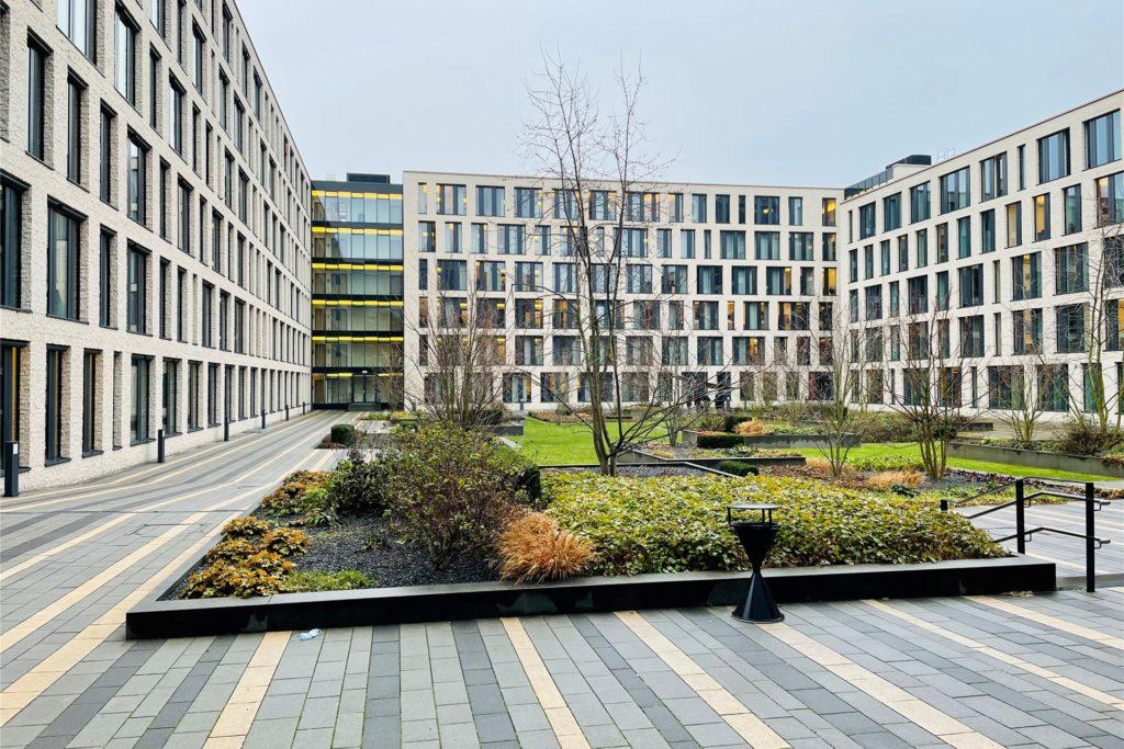 Der Zigarettenschmuggel-Prozess findet am Bochumer Justizzentrum statt.