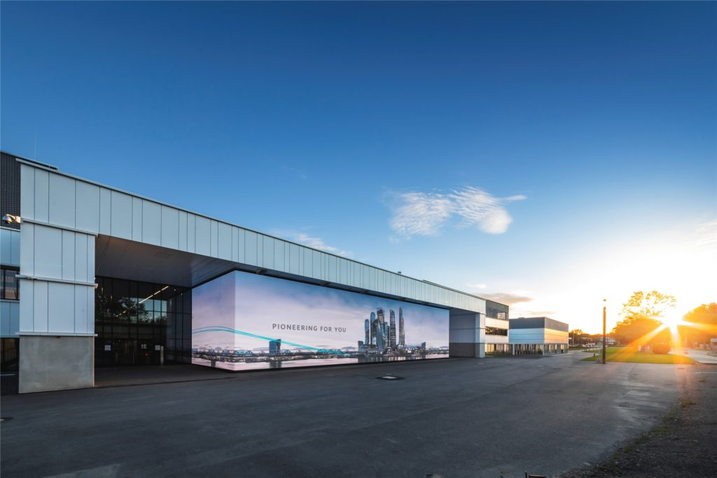 Mit dem Wilopark hat die Wilo Gruppe nach eigener Bekundung 20 Jahre in die Zukunft geplant und an ihrem Hauptsitz in Dortmund eine klimaneutral arbeitende und durchdigitalisierte Fabrik geschaffen.