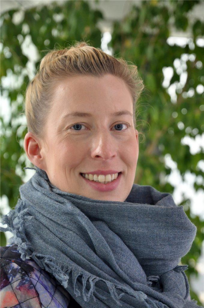 """Katharina Lorenz ist bei der Stadt Lünen für """"aufsuchende Hilfen"""" zuständig."""