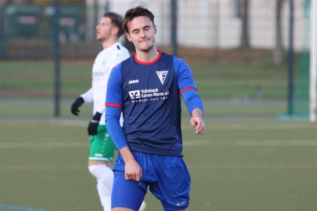 René Nemitz erhofft sich mehr Einsatzzeiten beim FC Nordkirchen.