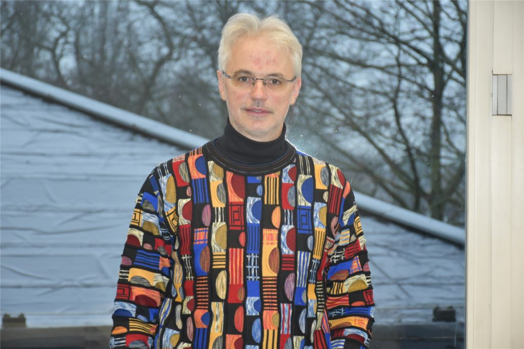 Wolfgang Endrös ist Leiter der Dorstener Musikschule.