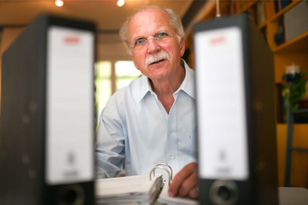 Joachim Schmittgen engagiert sich im Arbeitskreis