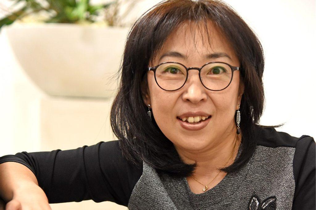Seong-Hwa Kim leitetet die Chorgemeinschaft St. Vitus und St. Jakobus und freut sich, dass sie per Online-Proben die Mitglieder zum Weitermachen in Corona-Zeiten motivieren kann.