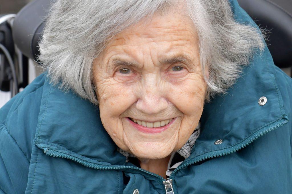 Will ihre Gäste zum 105. Geburtstag wiedersehen: Lucia Ashoff.