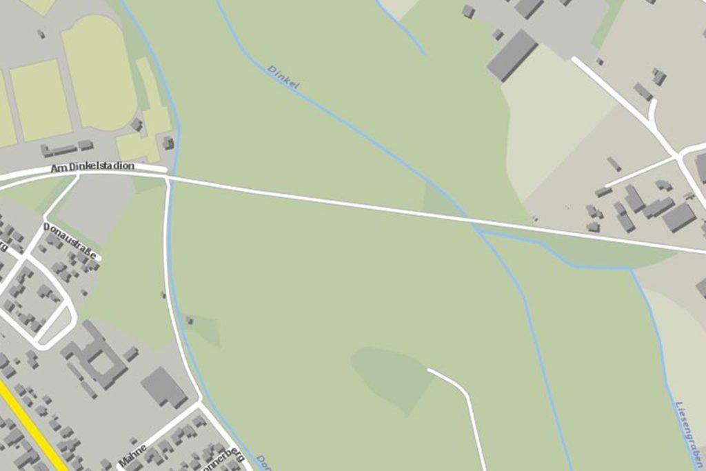 Über den rund ein Kilometer langen Bahndamm erstreckt sich der Trimm-Dich-Parcours des SV Heek.