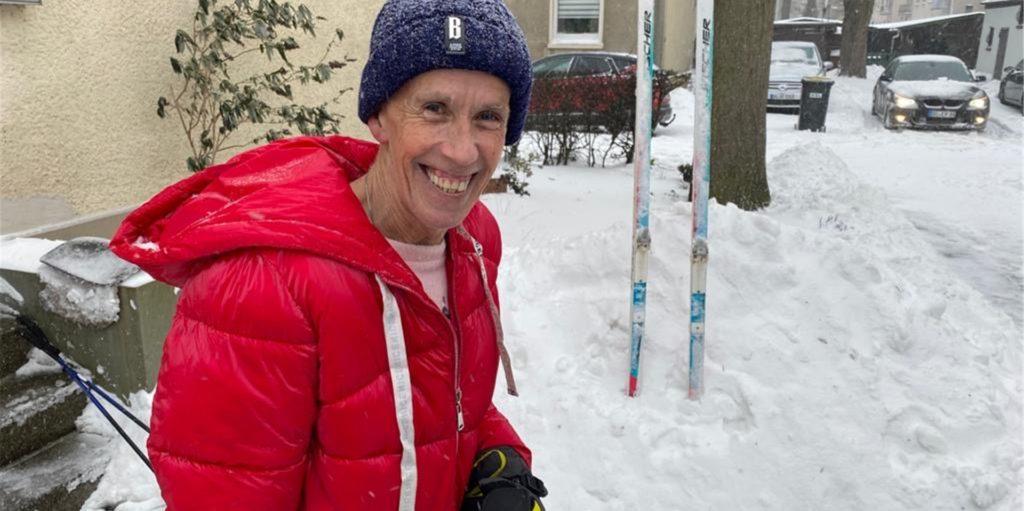 Freut sich über den vielen Schnee: Wetterexperte Burkhard Dreischer.