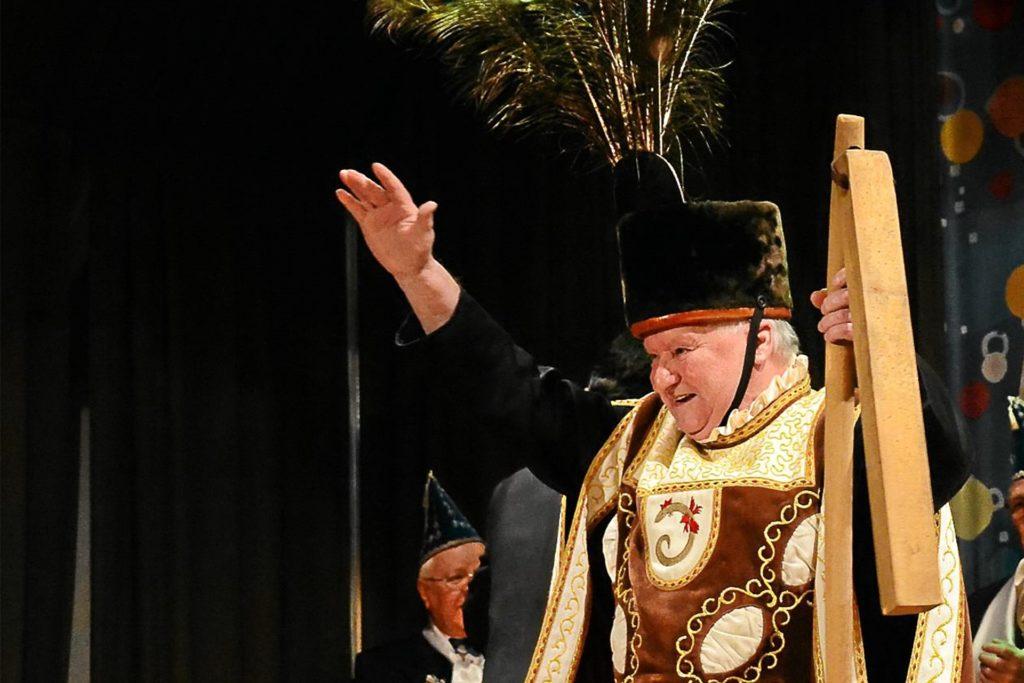 Vitus Theil war auch begeisterter Karnevalist.