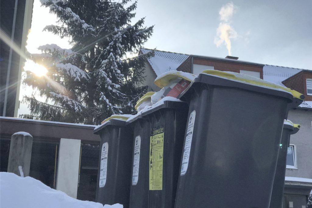 Die ganze Woche leert der EUV die Mülltonnen in Castrop-Rauxel nicht.