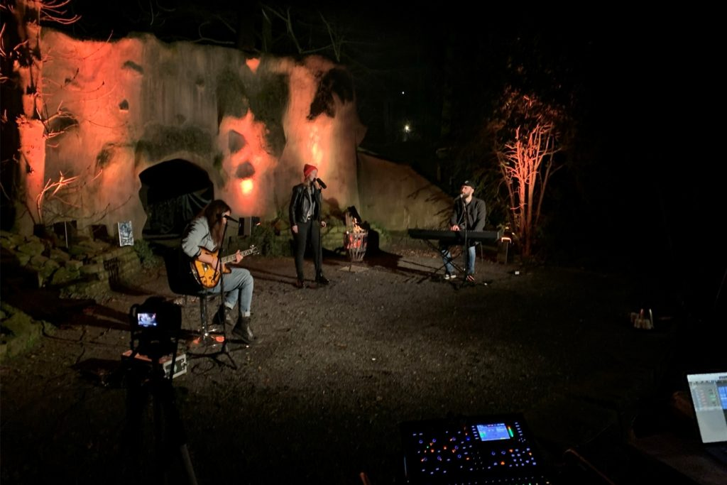 Die Werner Band Red Ivy hat mit ihrem Live-Auftritt von der Freilichtbühne überrascht.