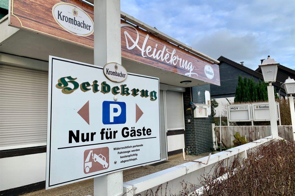 So kennen die Holzener ihren Heidekrug. Jetzt wird dort ein Grillrestaurant einziehen.