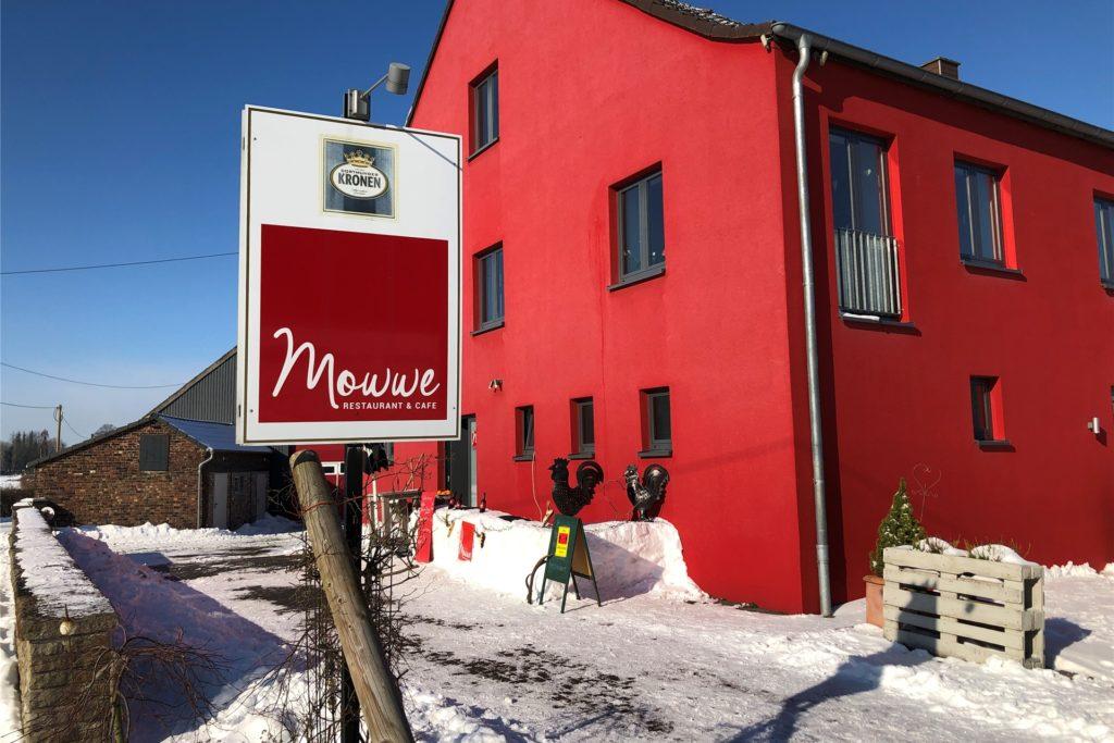 Das Café-Restaurant Mowwe liegt an der Straße Im Ostfeld - direkt am Kurler Busch