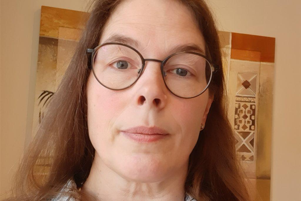 Karin Schmittmann hatte während des Friseur-Lockdowns die Vorteile langer Haare.