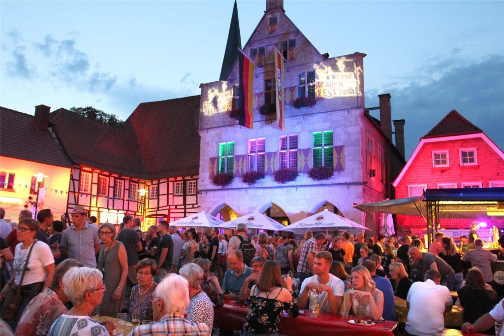 Das Straßenfestival in Werne, hier 2019 zu sehen, ist ein Highlight im Veranstaltungskalender. Dieses und viele weitere Events sind auch für 2021 terminiert. Allerdings aufgrund der Corona-Pandemie zunächst unter Vorbehalt.