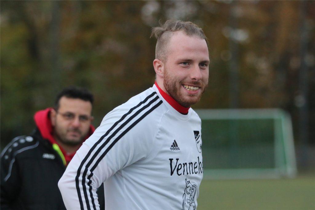 Marc Philipps mischt im Torwart-Konkurrenzkampf beim FC Nordkirchen ordentlich mit.