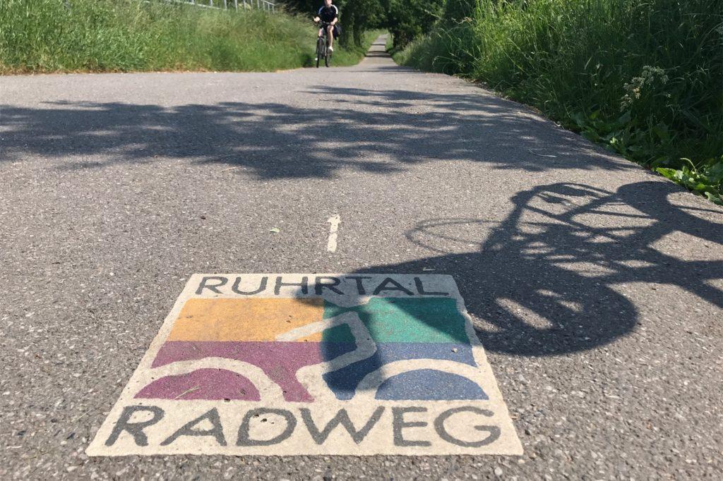 Der Ruhrtalradweg führt auch durch Schwerte.