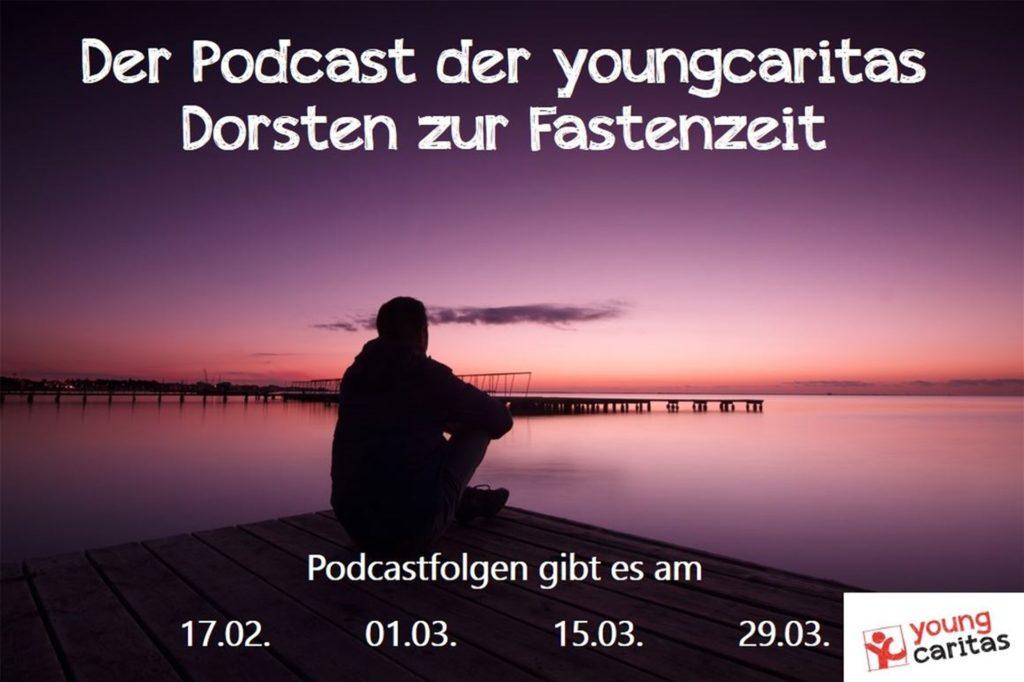 Die Werbung für den Podcast zur Fastenzeit.
