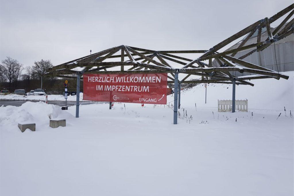 Das Impfzentrum im Kreis Coesfeld befindet sich in Dülmen in den Veranstaltungsräumen der Firma Wiesmann Sport Cars GmbH.