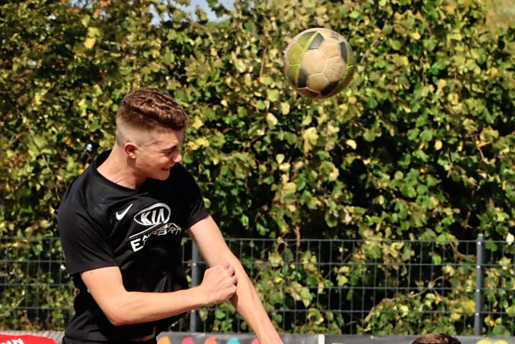 Lukas Bregenhorn könnte beim FC Nordkirchen für Lufthoheit sorgen.