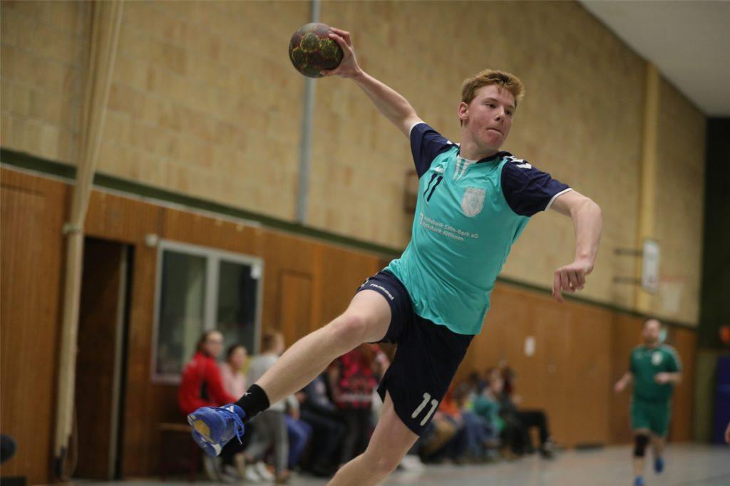 Felix Schimmel und die Handball-Herren des PSV Bork werden an der Aufstiegsrunde teilnehmen.