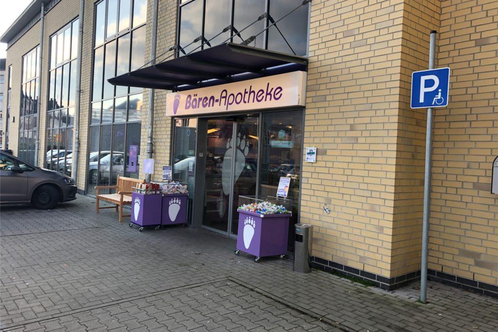 Die Bären-Apotheke im Selmer Zentrum ist eine der zwei Filialen von Tanja Adick.