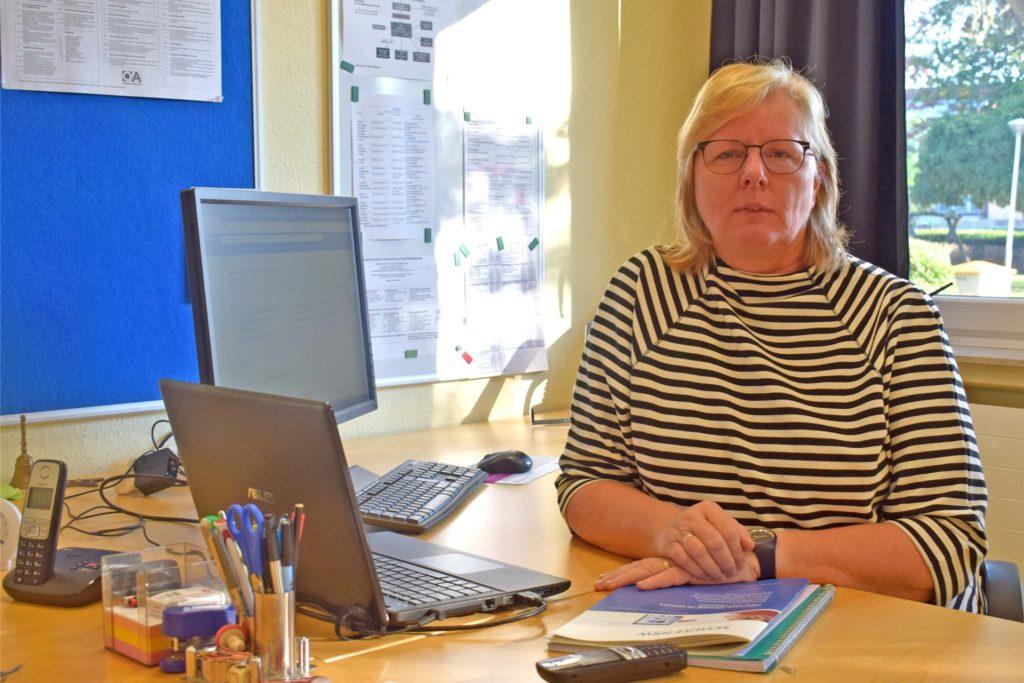 Veronika Beher leitet die Silverbergschule.