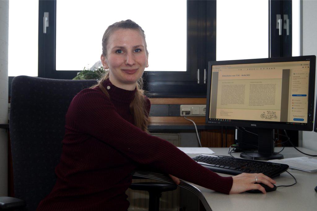 Lea Freese ist Klimaschutzmanagerin bei der Stadt Selm.
