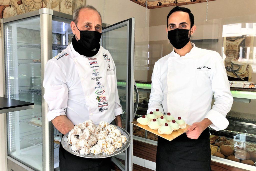 """Die """"Cassatine Siciliane"""" (kleine Törtchen) sind bei den Stammkunden besonders beliebt."""