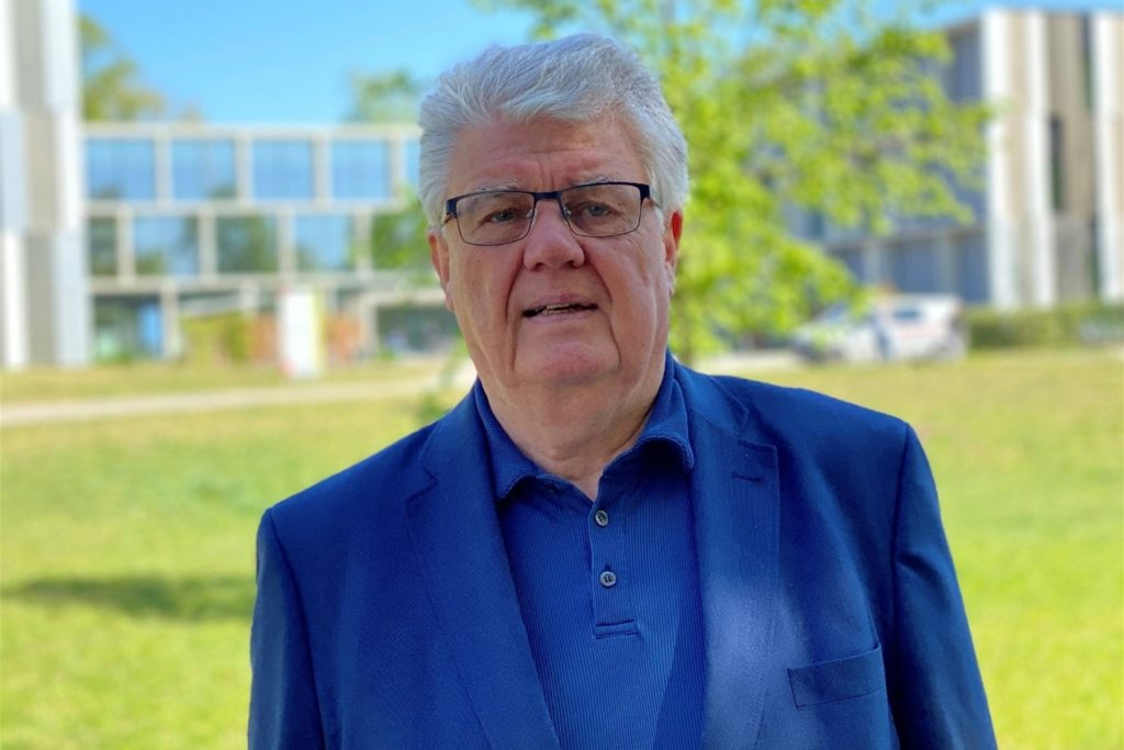 Hans Joachim Thimm ist Oberarzt an der Dortmunder LWL-Klinik