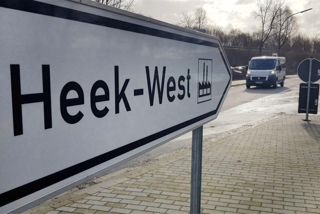 Die Gewerbeschau hätte im Gewerbegebiet Heek-West stattfinden sollen.