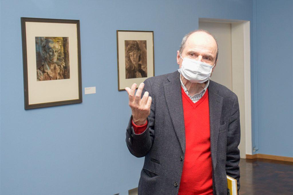 Eckhart Gillen war Kurator der Baumgarte-Ausstellung.