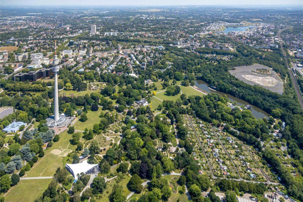Der größte Garten der Stadt ist der Westfalenpark. Ein neues Buch soll seinen Wandel zeigen.