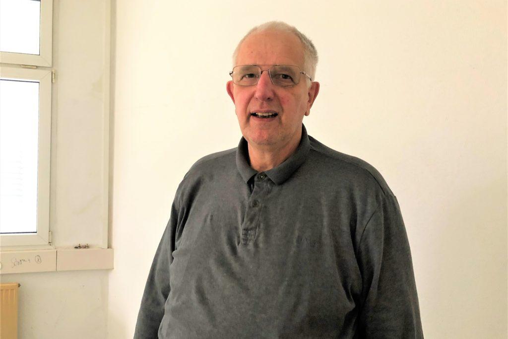Hans Georg Hovermann ist der Investor der neuen Sozialwohnungen in Oestrich.