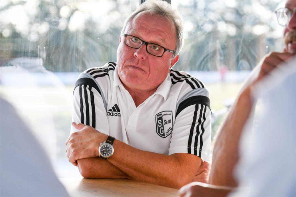 Georg Hillmeister von der SG Selm steht Spielen ohne Zuschauern skeptisch gegenüber.
