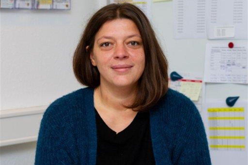 Ilda Kolenda, Leiterin des Angebotes für Nutzerinnen innerhalb der Frauenübernachtungsstelle in der Nortkirchenstraße.