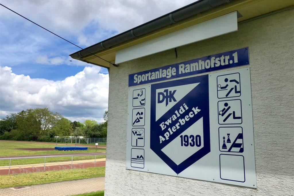 Auf der Sportanlage Rahmhofstraße wird nicht nur die Turnhalle saniert, es gibt auch ein Outdoor-Projekt.