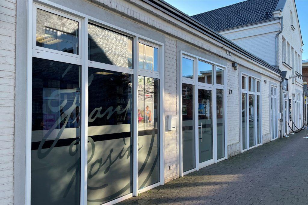 Der neue Rosin-Store am Brauturm in Wulfen