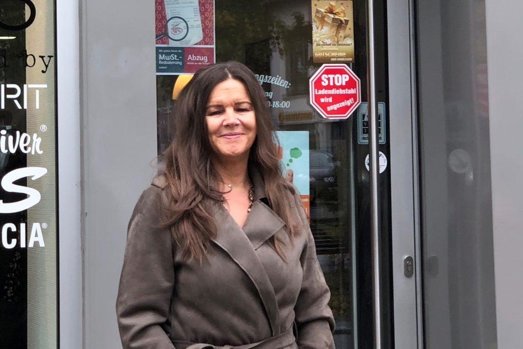 Birgit Schachtsieck ist seit 12 Jahren mit ihrem Modegeschäft