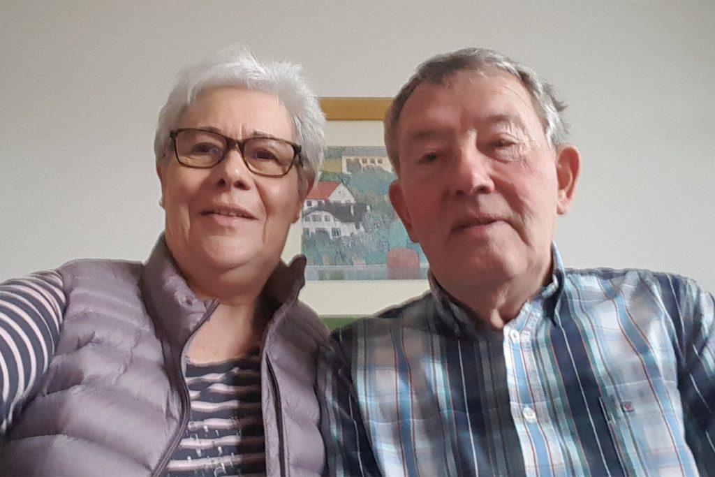 Maria und Dieter Herbst fühlen sich im LiNa-Haus pudelwohl. Sie sind vom Dorf in die Stadt gezogen und freuen sich heute, dass sie vieles zu Fuß erreichen können.