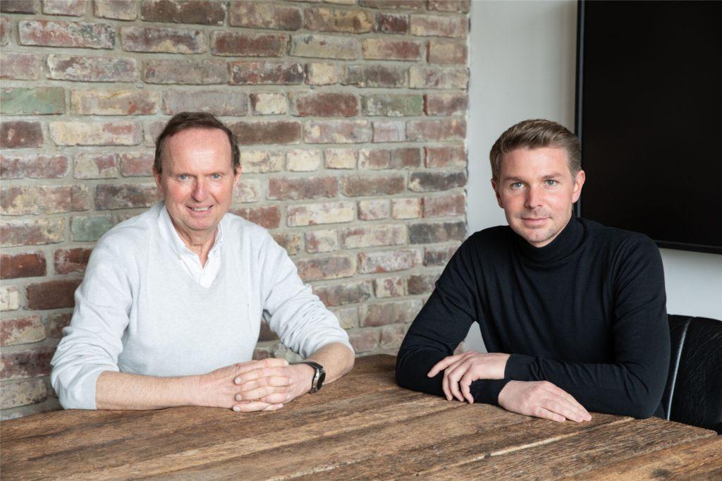 Hermann Niemeier (links) und Hendrik Kemper haben die große Hoffnung, dass noch in diesem Jahr Großveranstaltungen stattfinden können.