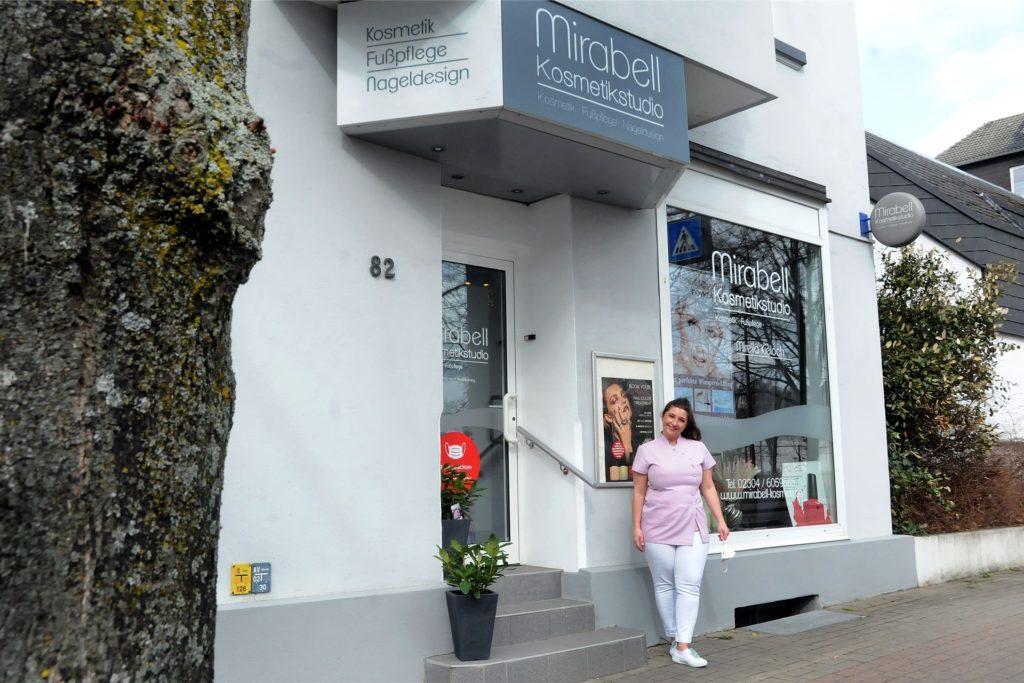 Das Mirabell Kosmetikstudio am Rosenweg 82.