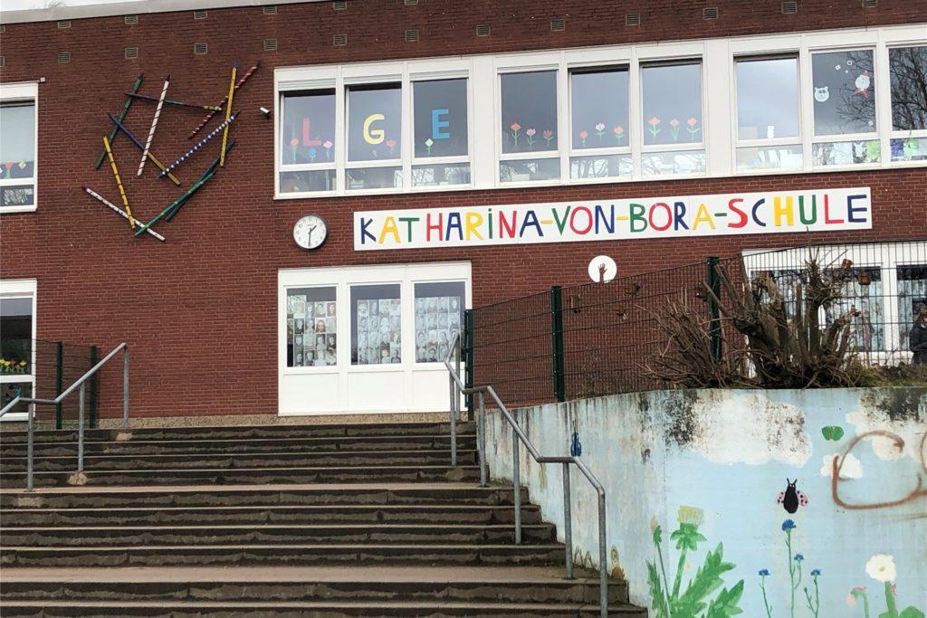 Die Impfung fand an der Katharina-von-Bora-Schule statt.