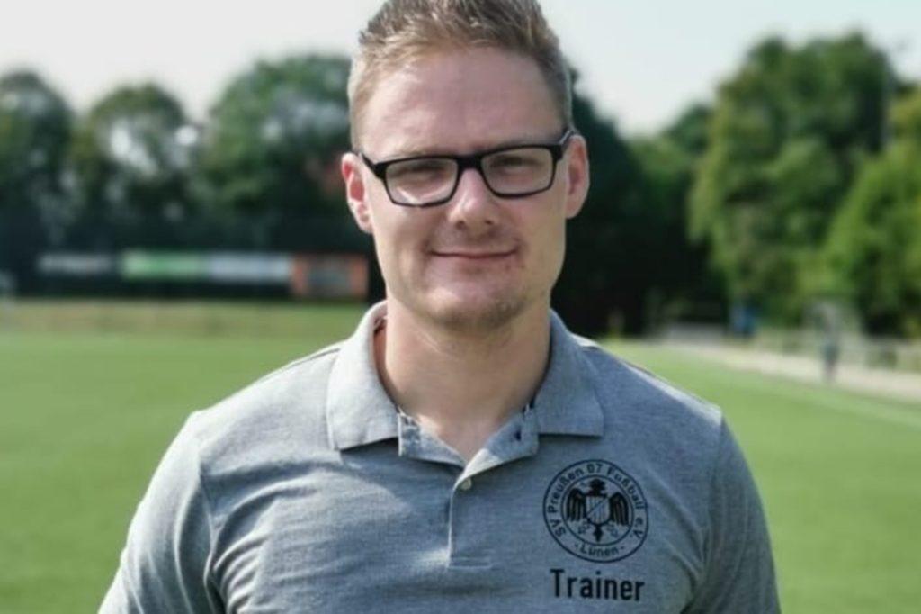 Patrick Höfig ist der neue Mann an der Seitenlinie des SV Preußen.